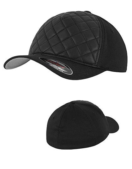 Diamond Quilted Flexfit Cap. 1 ... d550b2d9007a
